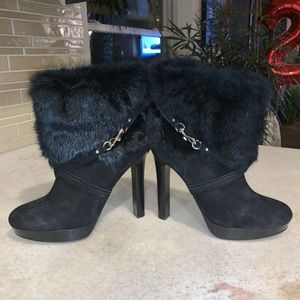 Black Coach booties